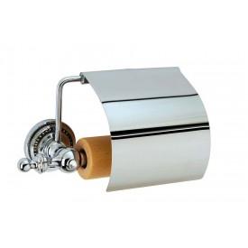 Держатель для туалетной бумаги с крышкой Boheme Brillante 10430