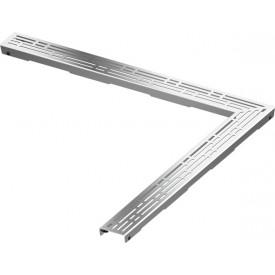 Декоративная решетка угловая TECE drainline basic 611010