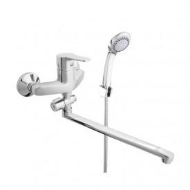 Смеситель в ванную настенный Uno-12/C Rubineta N2CD01
