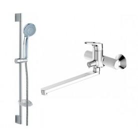 Комплект для ванной комнаты Bravat Drop-D 2 в 1  F00413C