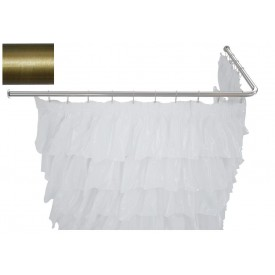 Карниз для ванны угловой Г-образный Aquanet 180x90 00241468