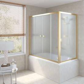 Душевая шторка на ванную Z2V+ZVF 170*75 09 R04 VegasGlass