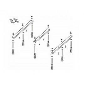 Ножки для душевого поддона Riho 424 - 8 опор POOTSET68