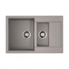 Кухонная мойка Omoikiri Daisen 78-2-GR 4993332 leningrad grey