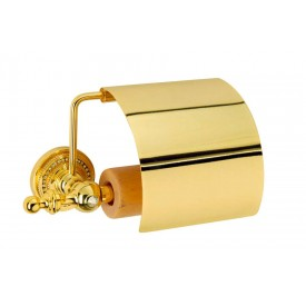 Держатель для туалетной бумаги с крышкой Boheme Imperiale 10401