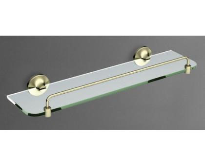 Полка стеклянная подвесная ART&MAX AM-4282-Br