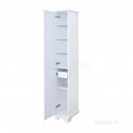 Шкаф - колонна Элен правый белый Aquaton 1A228603EN01R