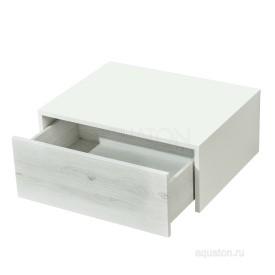 Комод Сакура 60 ольха наварра, белый глянец Aquaton 1A220403SKW80