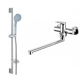 Комплект для ванной комнаты Bravat Eler 2 в 1  F00449CP