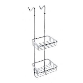 Двойная полочка для мыла угловая - мыльница Bemeta 104702172