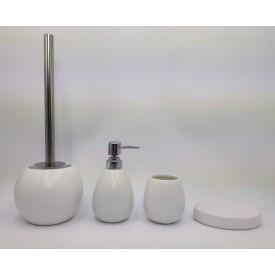 Керамический набор для ванной белый матовый Gid W-matt 50 33434
