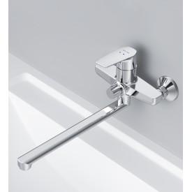 F90A90000 Gem смеситель для ванны душа излив 320 мм хром.