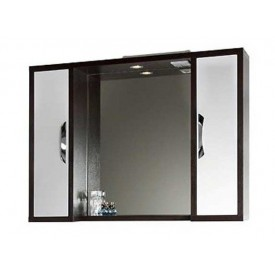 Зеркало VOD-OK Клаудия 95 см Венге-К/Бел-Ф