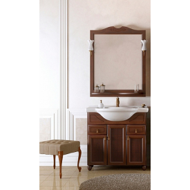 Мебель для ванной Тибет 70 Opadiris Z0000000702 (Тумба с раковиной + зеркало)