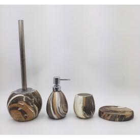Керамический набор для ванной под камень Gid Mokko 50 33366