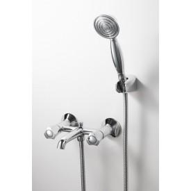 Смеситель для ванной на 2 отверстия Bravat F6133186CP-B-RUS