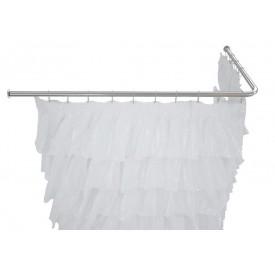 Карниз для ванны угловой Г-образный Aquanet 180х80 00165118