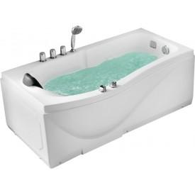 Ванна с изливом Gemy 173х83 G9010 B R