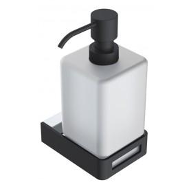 диспенсер для жидкого мыла Chrome & Black Boheme Q 10957-CR-B