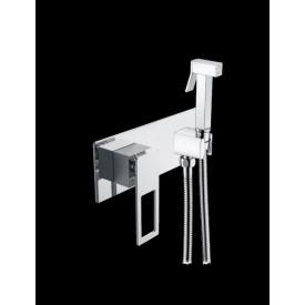 гигиентческая лейка со смесителем Boheme Q 147-CRUV.2 хром