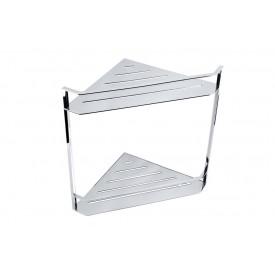 Двойная полочка для мыла угловая - мыльница Bemeta 146208202