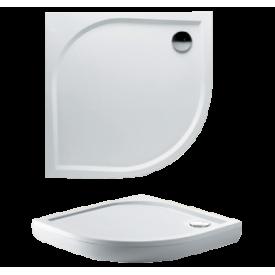 Душевой поддон из литьевого мрамора Riho Kolping DB18 100x100 R55 белый + сифон DB1800500000000