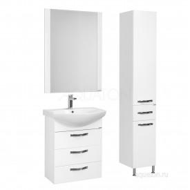 Зеркало Ария 65 белое Aquaton 1A133702AA010