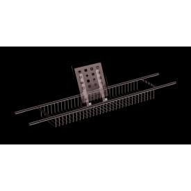 Полка решетка раздвижная на ванну с резиновыми протекторами LANGBERGER 79260
