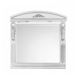 Зеркало VOD-OK Версаль Белое 95 см