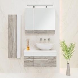 Комплект мебели для ванной Runo Вудлайн 85 подвесной