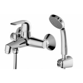 Смеситель для ванной на 2 отверстия Bravat F6135193CP-B-RUS