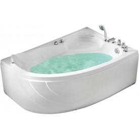 Ванна с изливом Gemy 150х100 G9009 B R