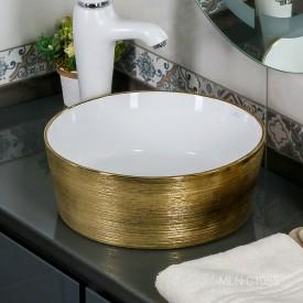 Раковина MELANA MLN-C1055 (золото)