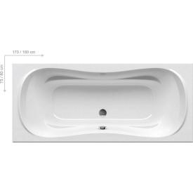 Акриловая ванна Ravak CAMPANULA II CB21000000 180x80 белая
