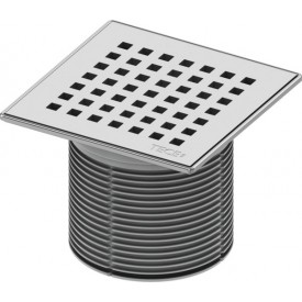 Декоративная решетка в стальной рамке TECE drainpoint S 3660008 150 мм