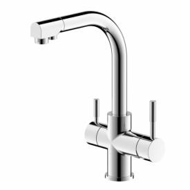 Смеситель для кухни с подключением питьевой воды Bravat Palace F729261CP-RUS