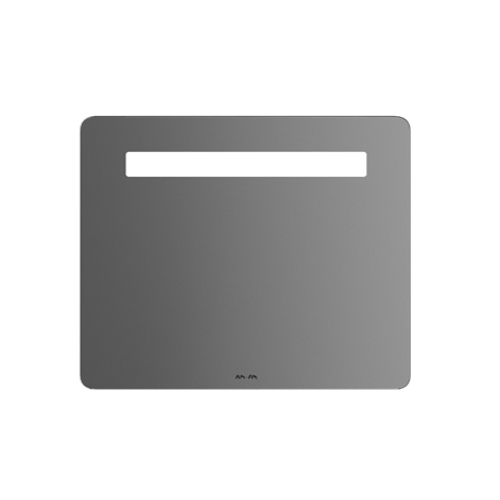 M90MOX0801WG GEM Зеркало настенное с LED-подсветкой 80 см