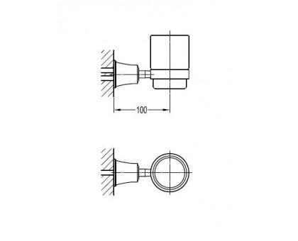 Стакан подвесной ART&MAX AM-F-8986
