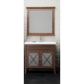 Мебель для ванной Палермо 90 Opadiris Z0000008550 (Тумба с раковиной + зеркало)