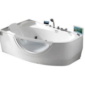 Ванна с изливом Gemy 171х99 G9046 II O L