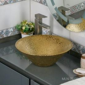 Раковина MELANA MLN-7020SJ (золото)