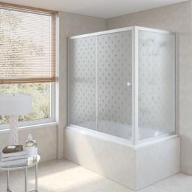 Душевая шторка на ванную ZV+ZVF 180*80 07 R05 L VegasGlass
