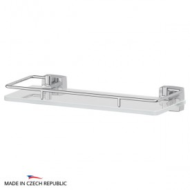 Полка с держателями (матовое стекло; хром) FBS ESP 013 30 см