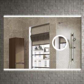 Зеркало Armadi Art Vallessi 80x70 542/2 с увеличением и подсветкой