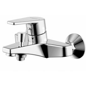 Смеситель для ванны с коротким изливом с аксессуарами Bravat Line F65299C-B-RUS