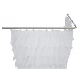Карниз для ванны угловой Г-образный Aquanet 190х100 00165119