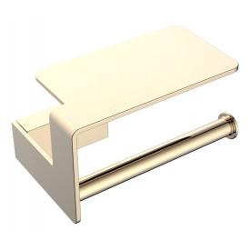 держатель туал.бумаги с полкой Gold Boheme Q 10941-G