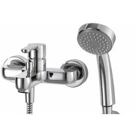 Смеситель для ванной на 2 отверстия Bravat F63783C-B