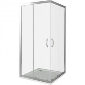 Угол для душа хром  GOOD DOOR Infinity (Good Door) 100х100 ИН00020