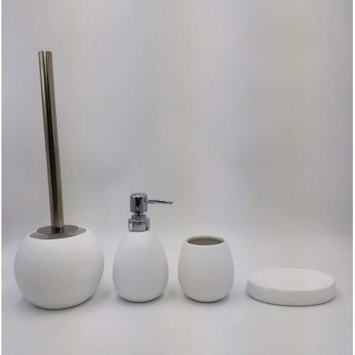Керамический набор для ванной белый W-spray 50 33403